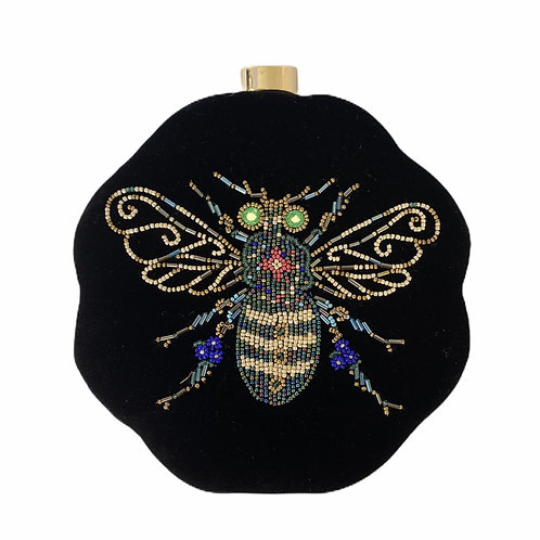 Sassy Black Bug - Clutch Bag