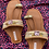 Thumbnail: Pink Pop - Embroidered Kolhapuri Footwear