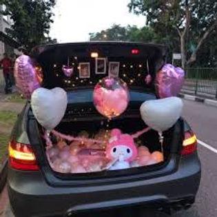 Car Deck Birthday Celebration