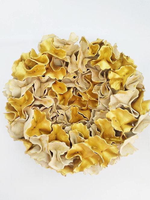 Wall installation gold flower ✨