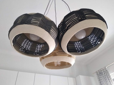 Triplets_Ceramic Pendant Lights