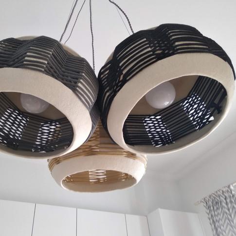 Triplets_Ceramic Pendant Lights