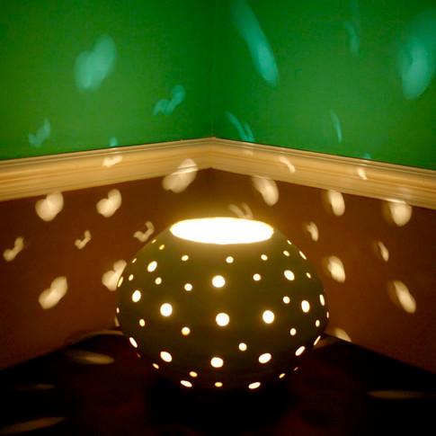 Atmospheric table lamp