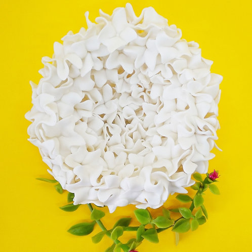 Porcelain sorbet wall flower 🌻