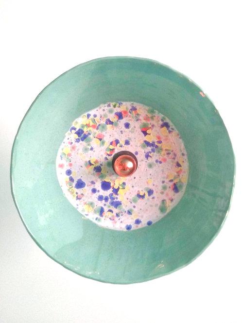 Harlequin_Mint Ceramic Pendant Light