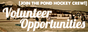 Pabst Pond Hockey Volunteer, Pond Hockey, Colorado Hockey