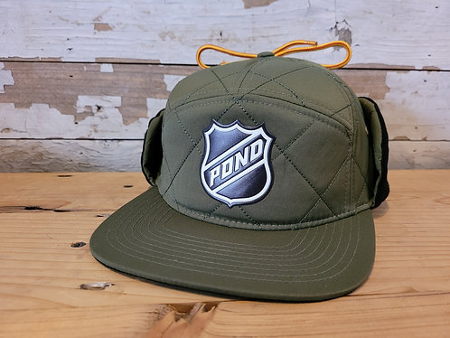 Pond Pro Quilted Hat - Green