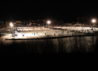 2019 Pabst Pond Hockey in photo...