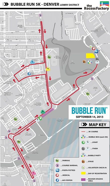 Bubble Run Denver