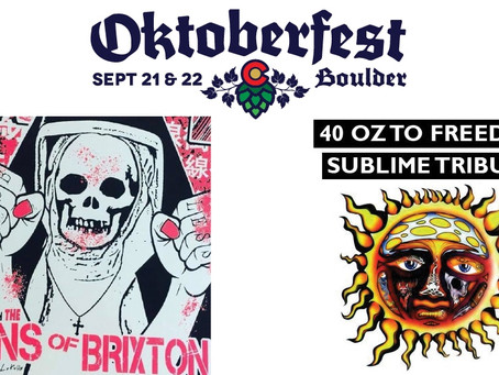 don't miss these shows at Oktoberfest boulder!