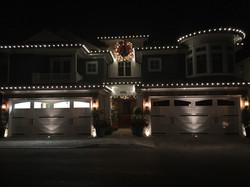 Residential xmas lighting