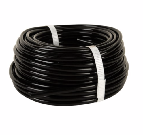 4 mm Black/Clear PVC Hose 30m