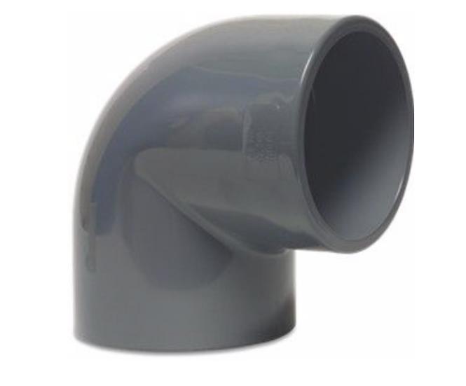 PVC Pressure 90 Degree Plain Elbow/Bend