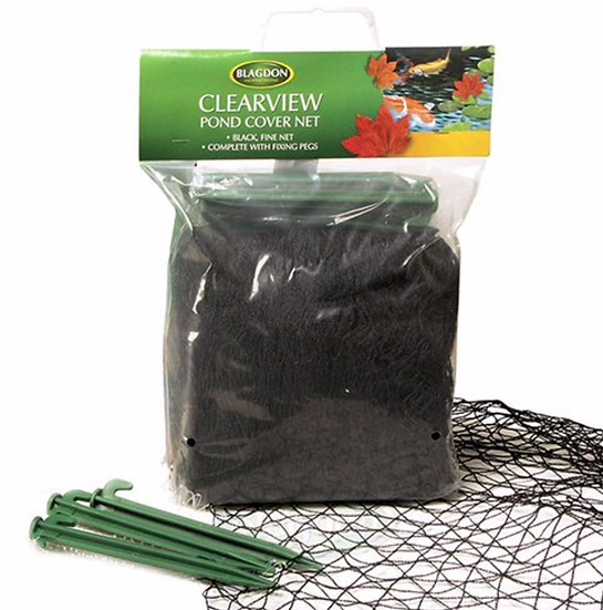 Blagdon Fine Black Cover Net in carry bag