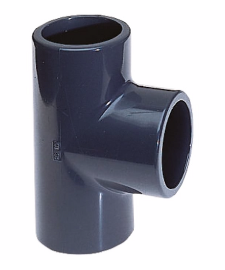 PVC Pressure Plain Equal T