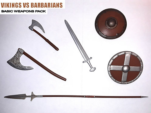 Vikings vs Barbarians Basic Weapons Pack