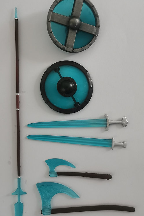 Blue Thunder Weapons Pack for Vikings vs Barbarians