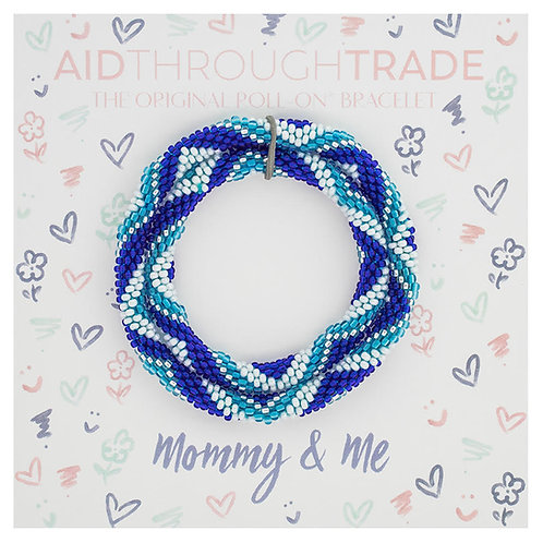 Bracelets for Summit-Mommy & Me Dolphin Color