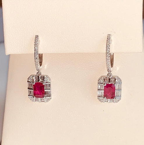Rudy Diamond Earrings
