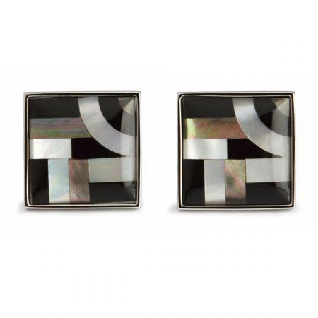 Bauhaus Lines Cufflinks