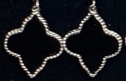Sterling Silver Clover Earrings