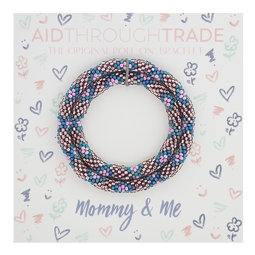 Bracelets for Summit-Mommy & Me Mermaid Color