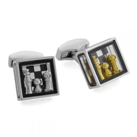 Pandora's Chess Box Cufflinks