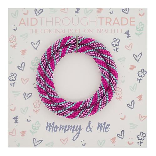 Bracelets for Summit-Mommy & Me Princess Color