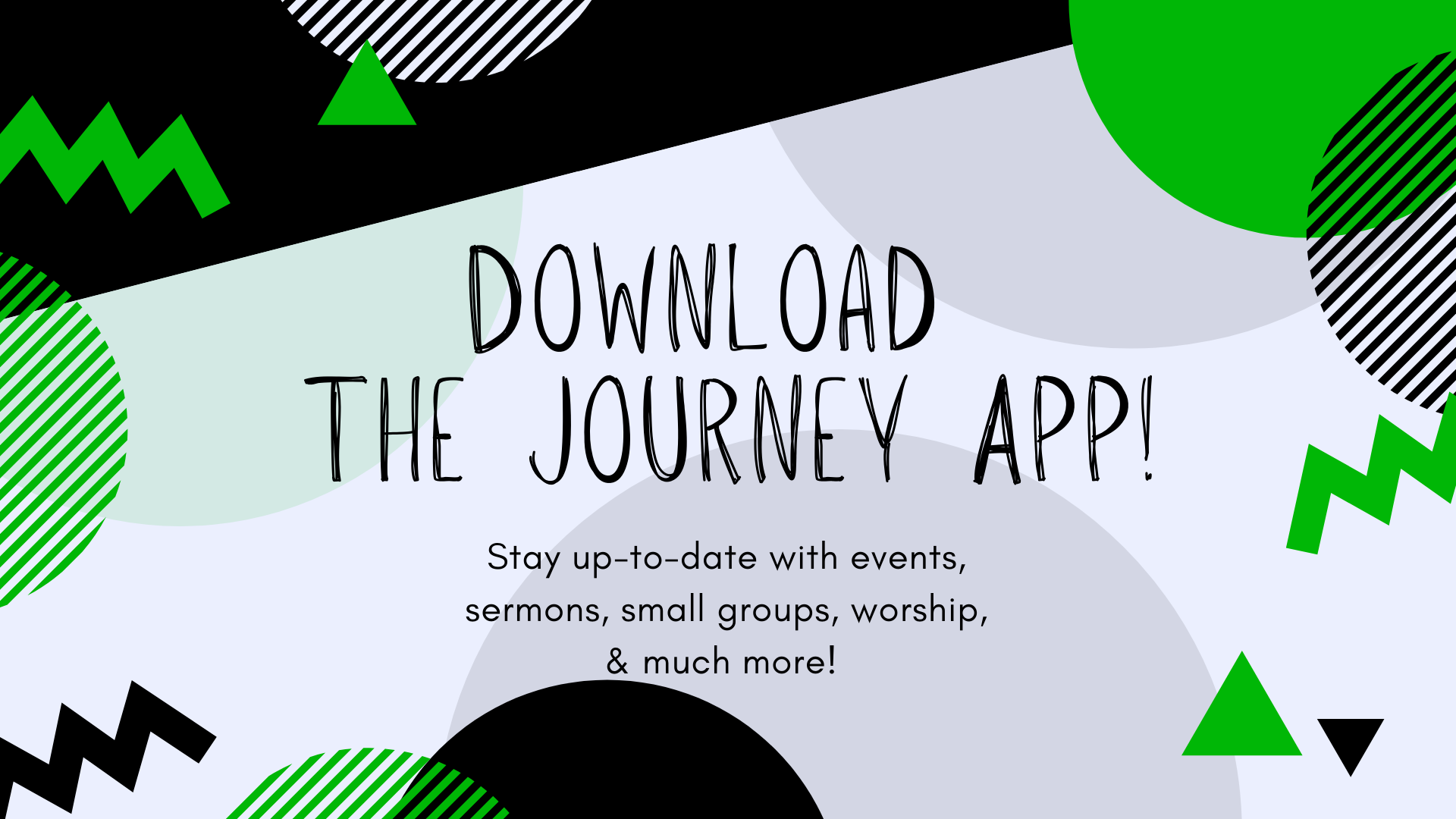 Download The Journey App!