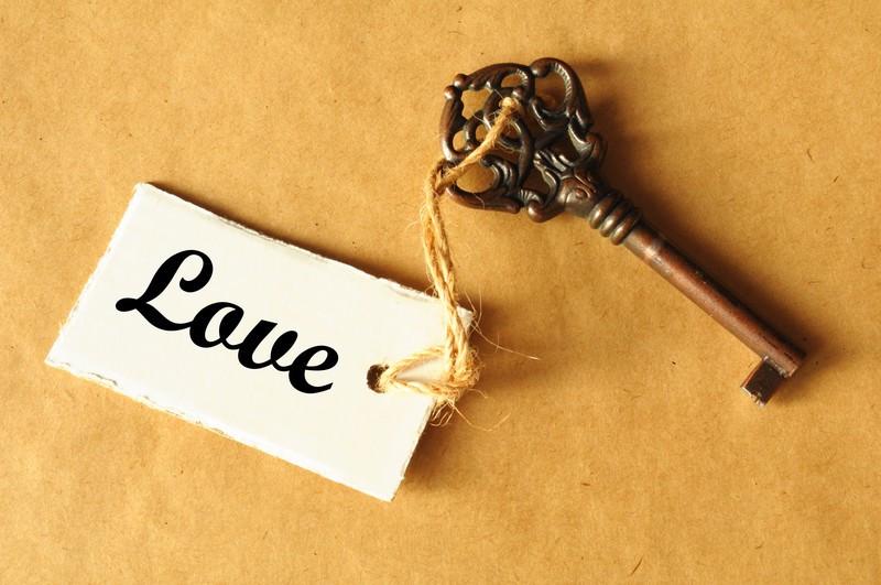 Love is key. Let it in.