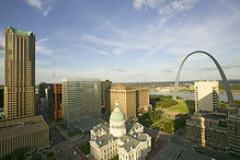 Elevated view of Saint Louis Historical