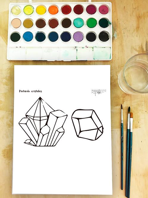 Acuarela: Cristales