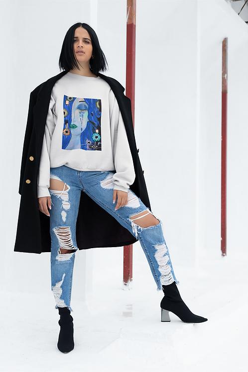 Klimt & blues hoodie