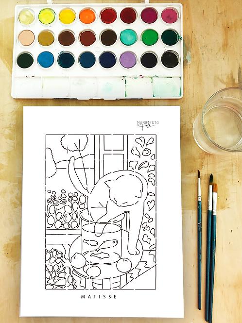 Acuarela: Matisse
