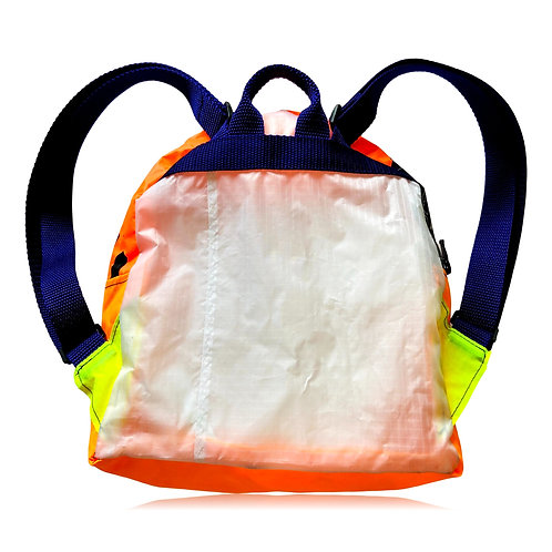 Orange Yellow Mini Backpack