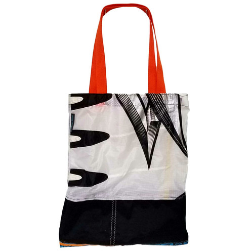 White Orange Book Bag | sailbagsmaui