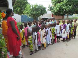 Esikoululaisia Busumbalassa