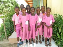Koululaisiamme Ann-Mari Rivierissä