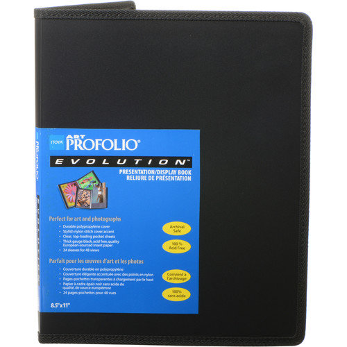 Profolio Evolution Presentation & Display Book - 8.5 x 11