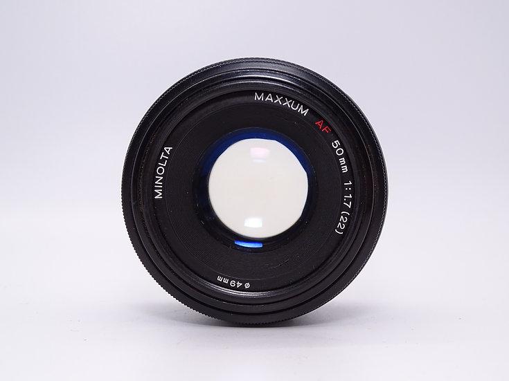 Minolta 50mm f/1.7 AF