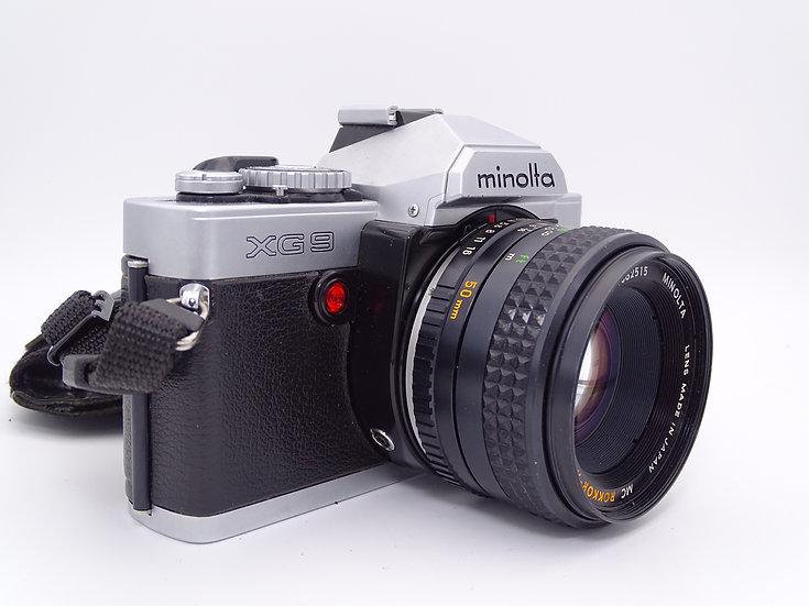Minolta XG9 w/ Rokkor-X 50mm f/1.7