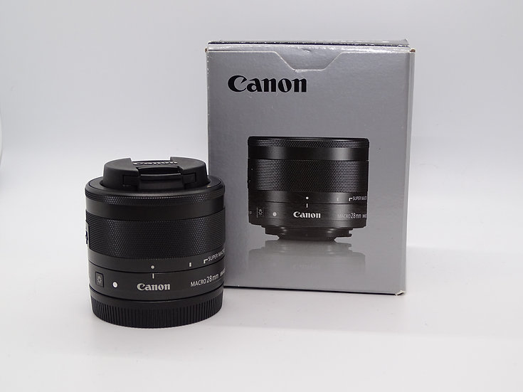 Canon EFM 28mm f/3.5 Macro IS STM (Used)
