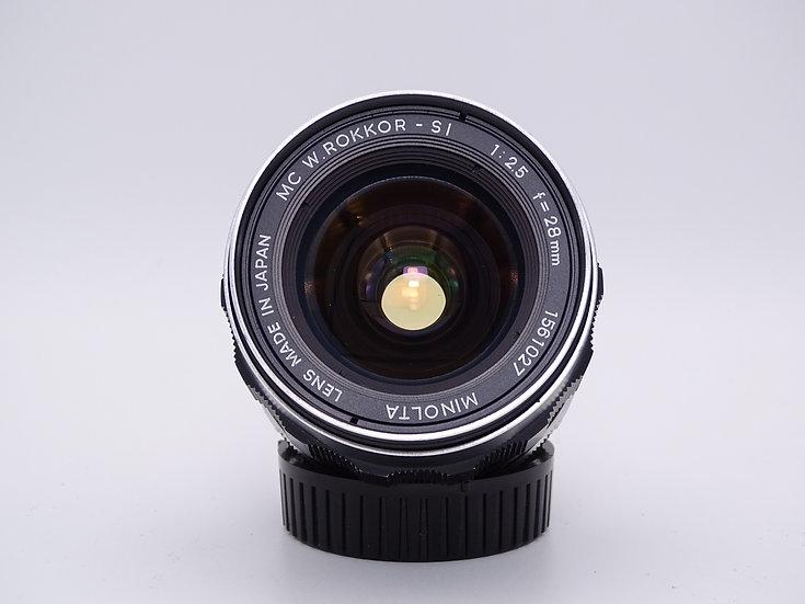 Minolta MD 28mm f/2.5