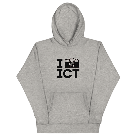 I Photograph ICT - Unisex Hoodie Black Logo