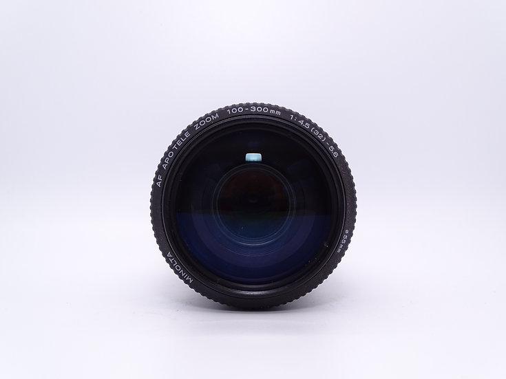 Minolta 100-300 f/4.5-5.6 AF