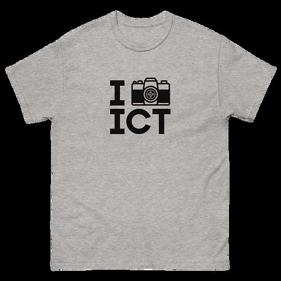I Photograph ICT - Men's heavyweight tee Black Logo
