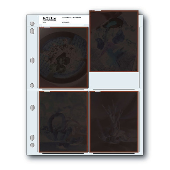 PrintFile 4x5 Negative Archival Sheets
