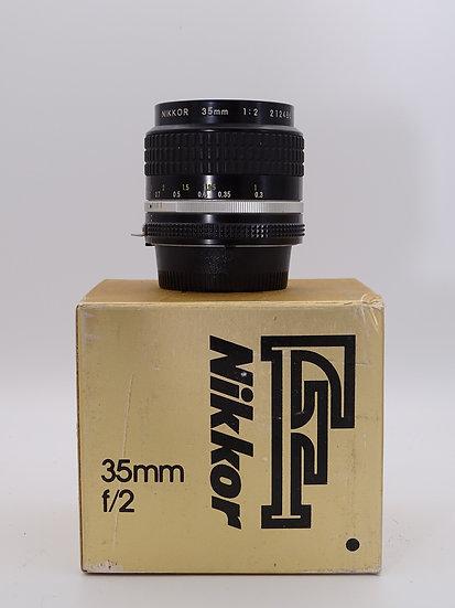 Nikon 35mm F/2