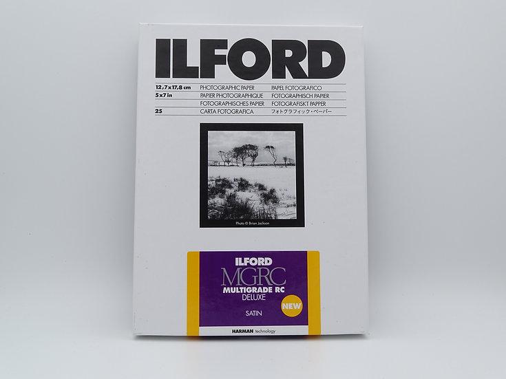 Ilford Multigrade RC Deluxe Satin 5x7
