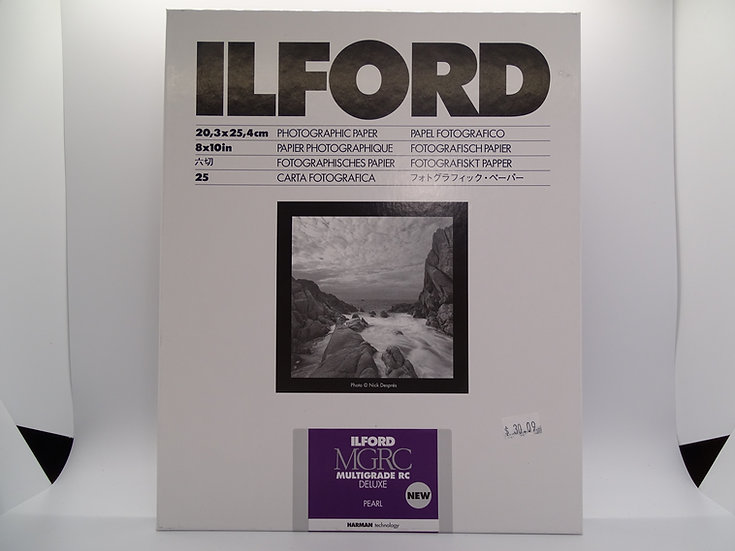 Ilford Multigrade RC Deluxe Pearl - 8x10